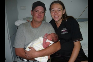 Ian, myself and our daughter Tanya.